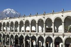 Arequipa Περού, Νότια Αμερική Στοκ φωτογραφία με δικαίωμα ελεύθερης χρήσης