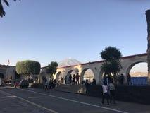 Arequipa Перу Mirador Volcan Misti Стоковая Фотография