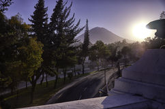 Arequipa, architectural monuments. Arequipa, sightseeing, monuments of architecture stock photo