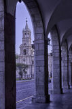 Arequipa, architectural monuments. Arequipa, sightseeing, monuments of architecture stock images