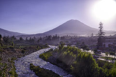 Arequipa, architectural monuments. Arequipa, sightseeing, monuments of architecture stock image