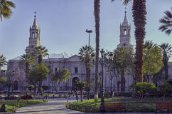 Arequipa, architectural monuments Royalty Free Stock Photography