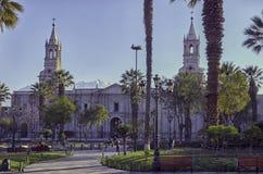 Arequipa, architecturale monumenten Royalty-vrije Stock Fotografie
