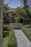 Arequipa, architektoniczni zabytki obrazy royalty free