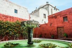 arequipa catalina kloster peru santa Royaltyfria Foton