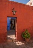 arequipa catalina kloster peru santa Arkivbilder