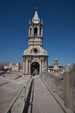 Arequipa Cathedral Royalty Free Stock Images