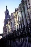 arequipa cathedral peru Στοκ Εικόνες