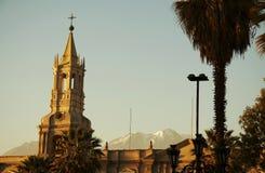 Arequipa city Royalty Free Stock Photos