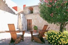 arequipa destinationsperu turist Royaltyfri Bild
