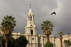 Arequipa en Perú fotos de archivo