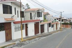 Arequipa jezdnia zdjęcie royalty free