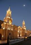 Arequipa-Kathedrale Stockfotografie