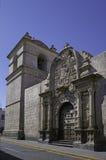 Arequipa, monumenti architettonici Fotografia Stock Libera da Diritti