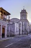 Arequipa, monumenti architettonici Fotografie Stock Libere da Diritti
