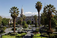 Arequipa in Peru Royalty Free Stock Photo