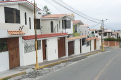 Arequipa Roadway Royalty Free Stock Photo