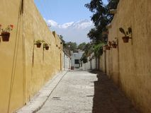 Arequipa street Royalty Free Stock Image