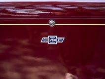Ares Испания - эмблема винтажного автомобиля Шевроле стоковая фотография rf