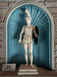 ares повреждают статую стоковое изображение rf
