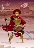 Ares illustration libre de droits
