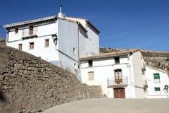 Ares del Maestrat, Els Ports, province de Castellon, Espagne photographie stock libre de droits