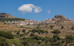 Ares del Maestrazgo town Royalty Free Stock Images