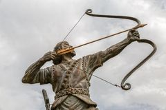 Aresh the Archer Royalty Free Stock Photography