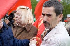 aresting bolsjevikisk linderman nationell polis Arkivfoto
