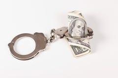 Aresztujący pieniądze Zdjęcia Stock