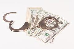 Aresztujący pieniądze Obrazy Stock