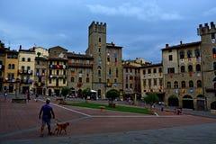 Arezzo Imágenes de archivo libres de regalías