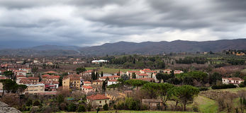 Arezzo From Above Stock Photography