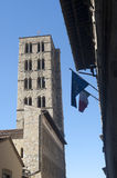 Arezzo, belfry Stock Photo