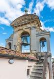 Arezzo bell tower Stock Photos