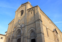 Arezzo Cathedral Stock Photos