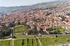 Arezzo en Toscane - en Italie Photo libre de droits