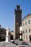 Arezzo. Italy. In the historical part of the city. Stock Image