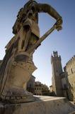 Arezzo, Palazzo dei Priori Royalty-vrije Stock Foto's