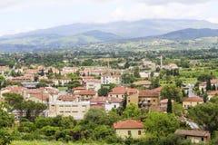 Arezzo sikt Arkivbilder