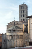 Arezzo St. Maria church Stock Images