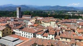 Arezzo in Toscanië in Italië royalty-vrije stock foto's