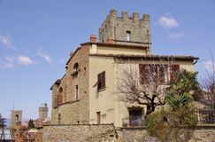 Arezzo in Tuscany in Italy Stock Photos