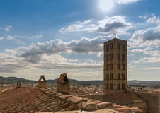 Arezzo view from Stock Photography