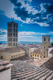 Arezzo view from Stock Images