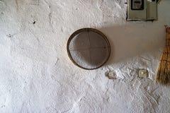 Arfy obwieszenie na ścianie obrazy royalty free
