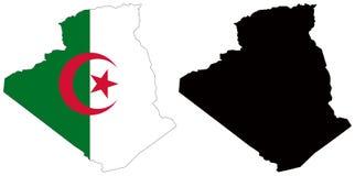 Argélia Ilustração Royalty Free