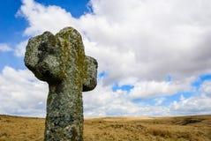 Arg dartmoor för sten Royaltyfri Foto