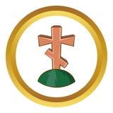 Arg symbol för grav royaltyfri illustrationer