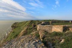 Argamum堡垒,罗马尼亚 库存照片
